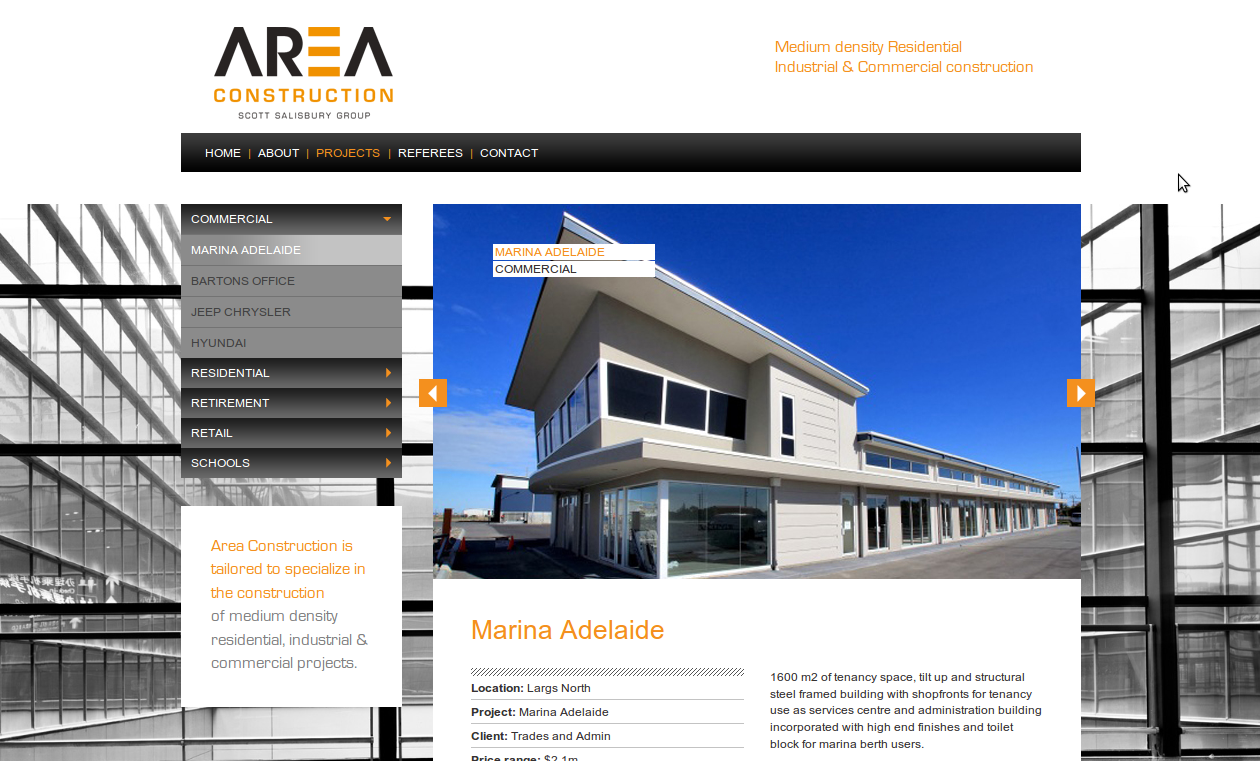 Website Launch Area Construction Australian Ecommerce Web Design