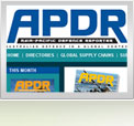 Asia Pacific Defence Reporter Website Design