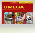 Omega Insurance Brokers Website Design